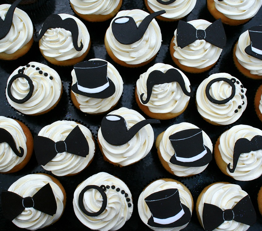 black tie cupcakes beautiful sugar paste roses and lace cupcakes