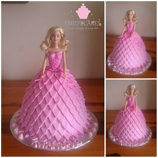 Barbie Doll Cakes Emily S Cakesemily S Cakes
