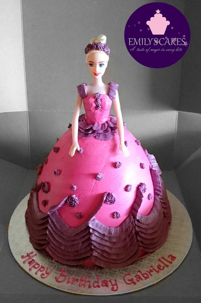 Barbie Doll Cakes Emily S Cakesemily S Cakes
