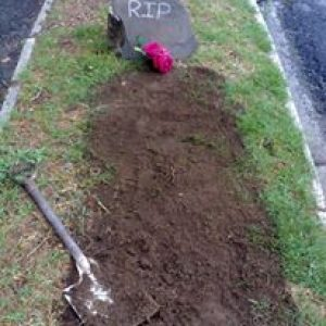 OUr grave